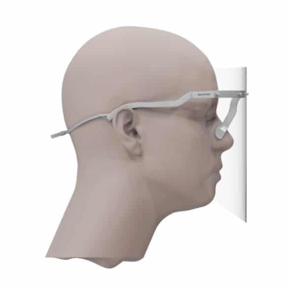 Visore protettivo VP1 - Safetek SRL - Dispositi di protezione individuale
